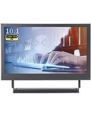 Kenowa 10.1 Inch Draagbaar Monitor Scherm 1366x768 Scherm, met HDMI VGA, Ingebouwde Luidspreker, Voor Laptop Xbox 360/Een PC TV Auto Achteruitrijcamera Raspberry Pi Windows 7 8 10 OS