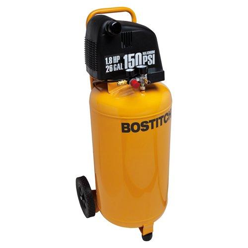 1.8 HP 26-Gallon 150 PSI Oil-Free Air Compressor - Bostitch BTFP02028