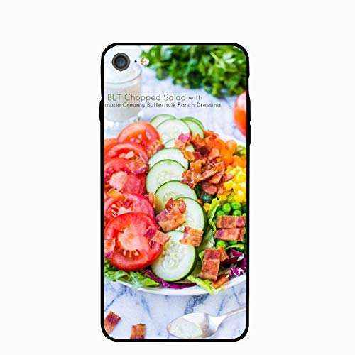 iPhone 6 Plus Case, Salad Ranch Dressing Girls Women Best Protective Rubber Slim Fit Thin Phone Case Compatible iPhone 6 Plus for $<!--$3.45-->