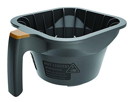 FETCO B015280BN2 Brew Basket, Gray Plastic, Plastic Brew Basket with brown tab