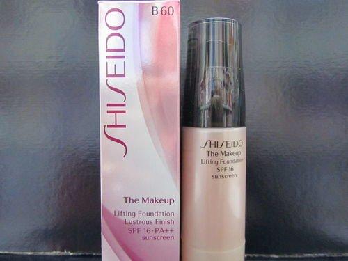 B60 Natural (SHISEIDO The Makeup Lifting Foundation B60 Natural Deep Beige)