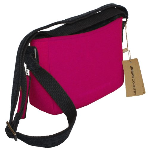 Borsa A Tracolla Country Country Uc008025-cerise Rosa