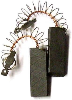escobillas de carbón GOMES, compatible para lavadoras Bosch WFI 2020, WFI 2021, WFI 2060