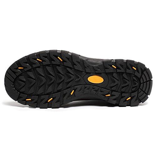 CHAMARIPA Chaussure a Talonnette invisible de couleur Maron pour homme - Grandit de 6 cm