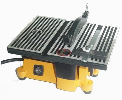 Outdoor Sport 01-0819 Mini Electric Table Saw, 4 in (Small Power Saw)