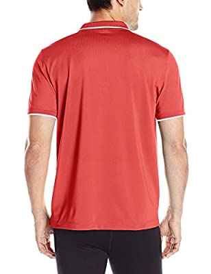 Calvin Klein Men's Performance Short Sleeve Core PD Tipped Pique Polo