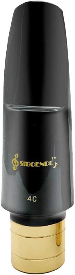 gazechimp Soprano Sax Saxophone Mouthpiece 4c Solid