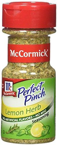 McCormick Perfect Pinch Lemon and Herb - 2.5 oz. (Mccormick Lemon Herb Seasoning)