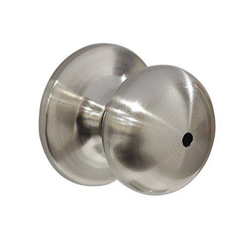 Probrico 10 Pack Privacy Door Lockset Stainless Steel Keyless Door Knobs Lock Set Handles Brushed Nickel (Bedroom & Bathroom) by Probrico (Image #4)