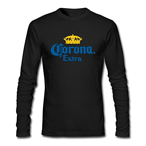 juxing-mens-corona-beer-logo-long-sleeve-t-shirt-xxl-colorname