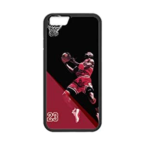 [Accessory] iPhone 6 Case, [Michael Jordan] iPhone 6 (4.7) Case Custom Durable Case Cover for iPhone6 TPU case(Laser Technology) hjbrhga1544