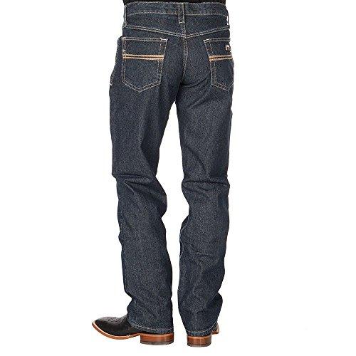 Cinch Men's Dark Blue White Label Carter WRX Fr Jeans Straig