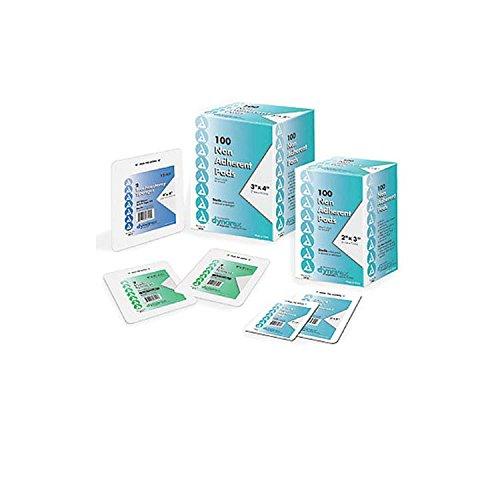 """Dynarex Non-Adherent Sterile Gauze Pad Size: 3"""" W x 8"""" D ..."""