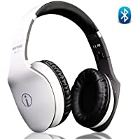 Rhythmz IME-22819 HD Fashion Hi-Fi Stereo Headphone - White