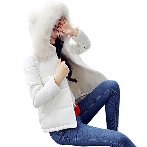Abrigo Ejercito Xinan Lammy de de casual invierno mujer mujer lammy outwear Chaqueta corto abrigo gruesa más L verde Abrigo Blanco x7Tqx