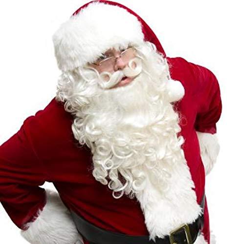 Ultimo Santa Wig Beard & Mustache Set]()