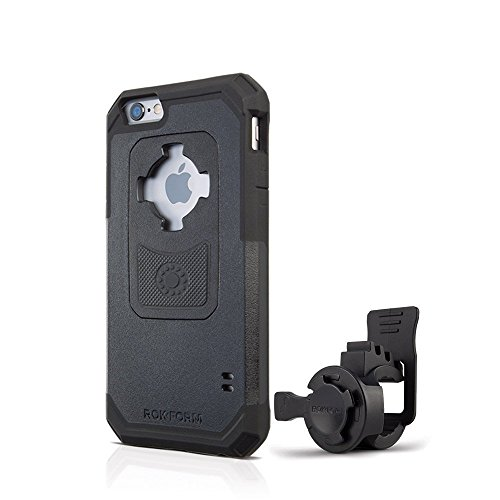 Rokform [iPhone 6/6s] Sport-Series Portable Bike Mount / Holder & Protective Phone Case, Twist Lock Security