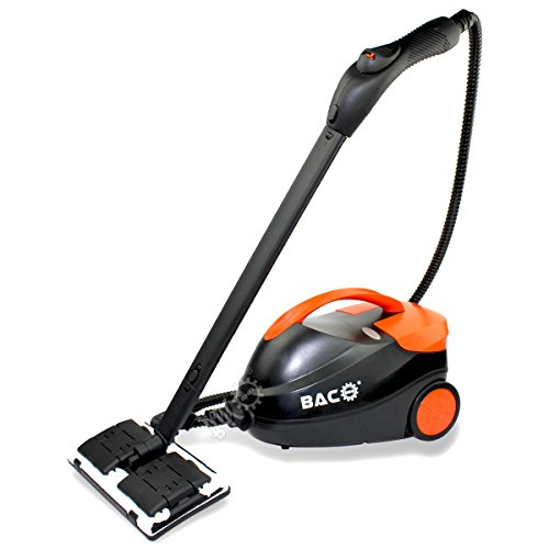 BACOENG Deluxe Heavy-Duty Steam Cleaner, Double Boilers for Continuous Usage