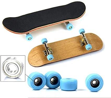 2X Finger Board Skateboard  Novelty Kids Boys Girls Toy Gift for P OQF