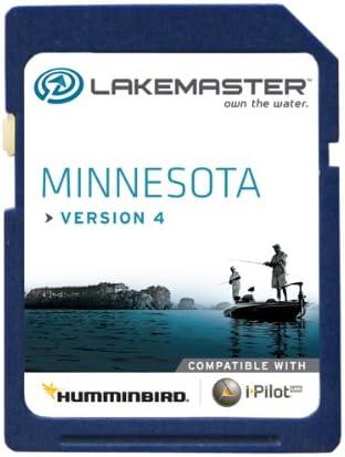 Lakemaster 6000211 Digital GPS Electronic Fishing Chart – Minnesota