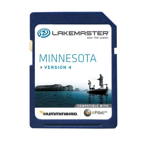 Lakemaster 6000211  Digital GPS Electronic Fishing Chart - Minnesota