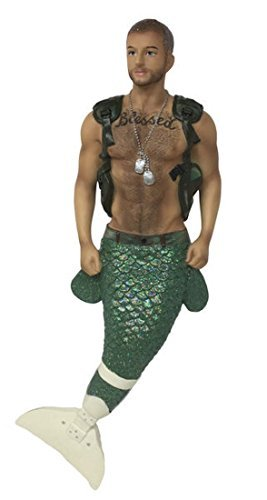 December Diamonds Merman Ornament - Hero (limited edition)