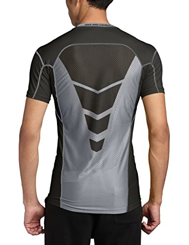 nike herren cool compression kurzarm t-shirt