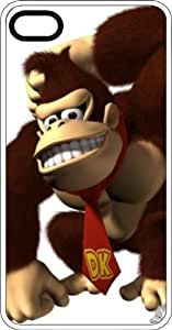Donkey Kong White Plastic Case for Apple iPhone 5 or iPhone 5s