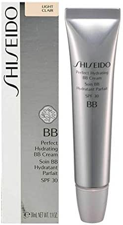 SHISEIDO BB PERFECT HYDRATING BB CREAM SPF 30 LIGHT FULL SIZE 30 mL / 1.1 OZ. IN RETAIL BOX