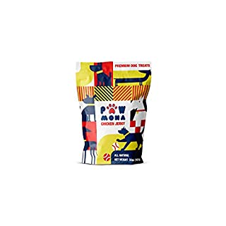 Pawmona Chicken Jerky Treats, All-Natural, Made with Real Chicken in Georgia | Premium Treat for Small and Large Dogs, 2 lb. Bag