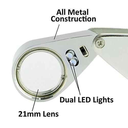 Etopstech Jewelry Loupe - LED Illuminated, 30x, 21mm - MG21007