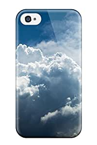 AnnaSanders ZSoonEh4867GLlVO Case For Iphone 4/4s With Nice Cloud Earth Nature Clouds Appearance