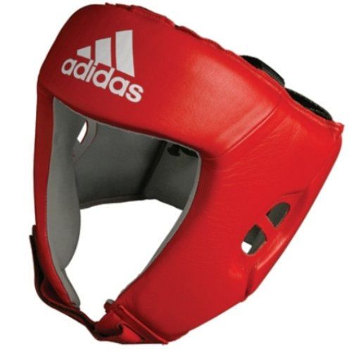 adidas AIBA approved Boxing Head Guard Red (Large)