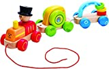 Hape - Early Explorer -Triple Play Wooden Train Set