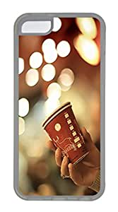 iPhone 5C Cases & Covers -Bokeh Cup Custom TPU Soft Case Cover Protector for iPhone 5C ¨CTransparent