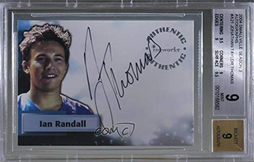 Jonathan Taylor Thomas as Ian Randall Graded BGS 9 MINT (Trading Card) 2004 Inkworks Smallville Season 3 - Autographs #A21
