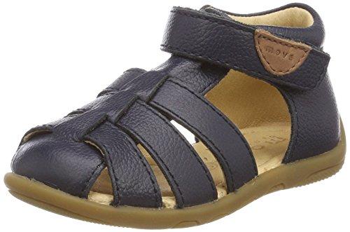 move Unisex Baby Sandale Geschlossen, Lauflerner Blau (Navy 281)