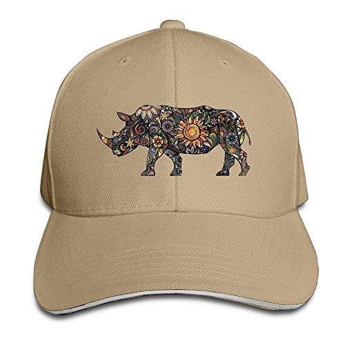 for Art Rhinoceros Cowgirl Men Sport Cowboy Skull Hat Hats Denim Women Cap zqwxa5z6p
