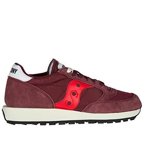 Rot Rot Bordeaux Sneakers Vintage Jazz Saucony Original 5aR7Tx