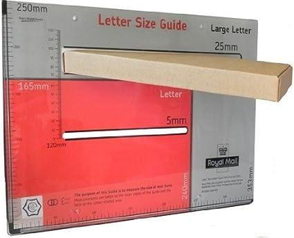 25 x C5/A5 precio en proporción (PIP) CAJA DE CORREOS 240X165X21mm- Ahorra una suerte encendido envío postal, enviar artículos as Royal Mail Carta Grande: Amazon.es: Oficina y papelería