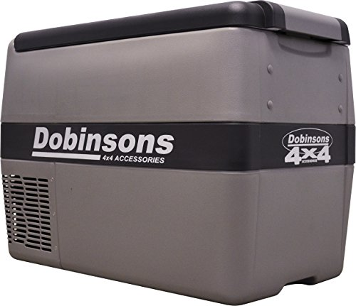 Dobinsons 4x4 40L 12V Portable Fridge Freezer, Includes Free Insulating Cover Bag (40l Fridge)