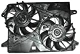 TYC 621160 Chrysler/Dodge Replacement Radiator/Condenser Cooling Fan Assembly