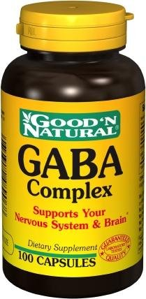 """Good N Natural - Complexe GABA - 100 Capsules"