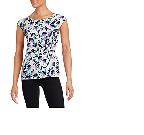 Ivanka Trump Womens Floral Ruched product image
