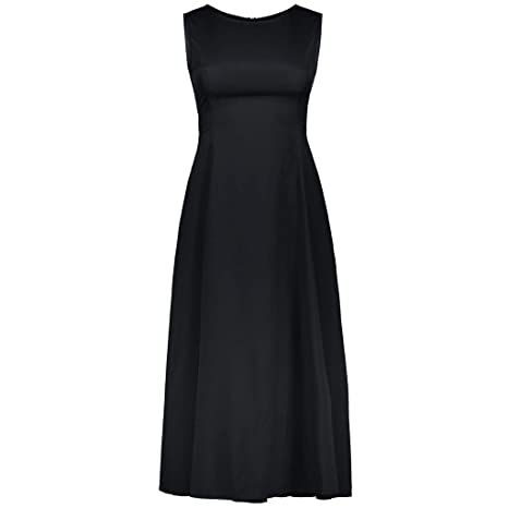 Amazon.com: Elegant Sleeveless Round Neck Evening Dress Empire Waist Bridesmaid Dress Toponly: Appliances