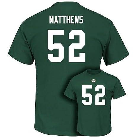 wholesale dealer 2ceba fe1e2 Amazon.com : Clay Matthews 2017-18 Green Bay Packers Men's ...