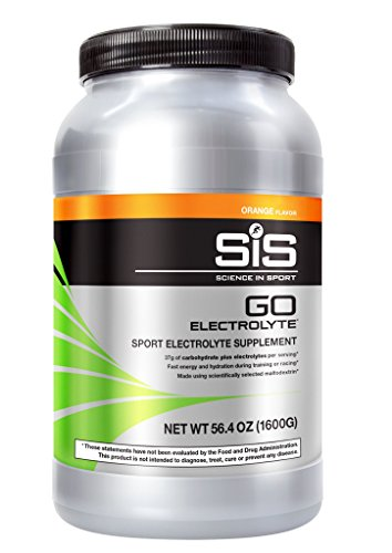 Science in Sport Go Electrolyte Energy Drink Powder | Orange Flavor Sports Performance & Endurance Supplement – 3.52 Pound