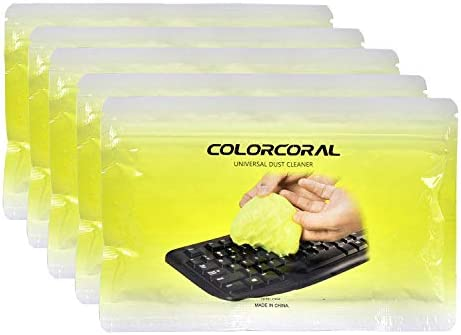 Printers Dust Cleaner Gel with 5 Keyboard Cleaning Set and Other Appliances Speakers Detailing Cleaning Gel for Keyboards Calculators Car Dash Rocoo 15Pack Cleaning Gel Universal Set