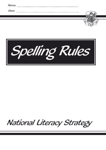 KS1 & KS2 English Spelling Rules
