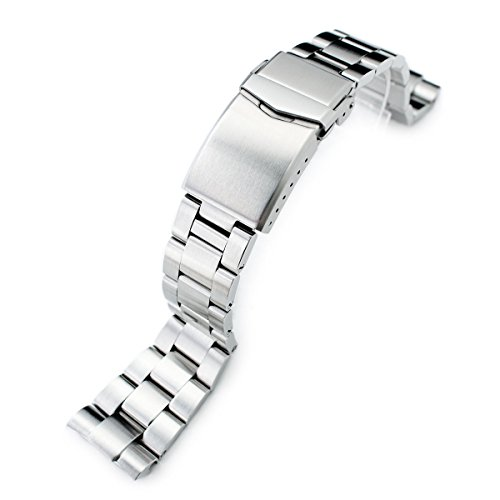 22mm Super Oyster Watch Bracelet for Seiko New Turtles SRP775 SRP777 SRP779, ()